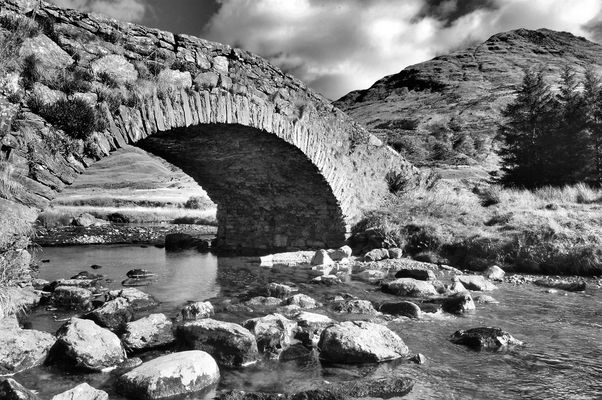 Bridge At The Rest And Be Thankful, Scotland