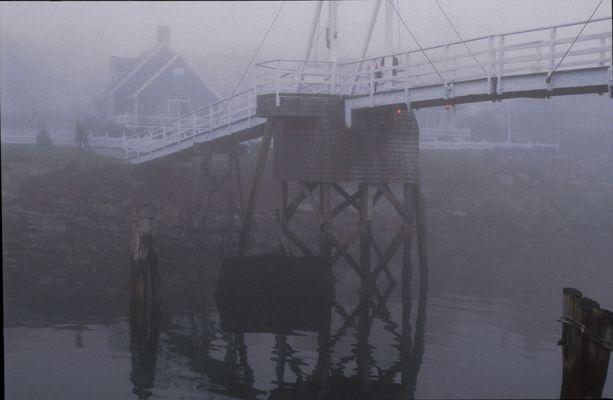 Bridge in Main - Fog