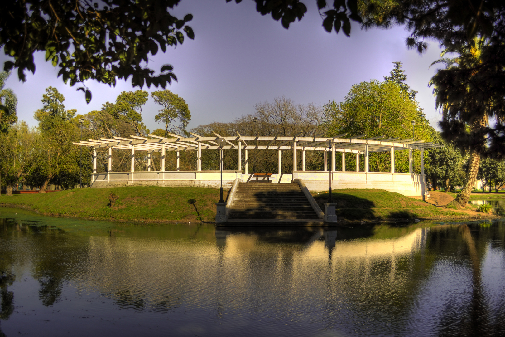 Bridge in Saavedra´s park