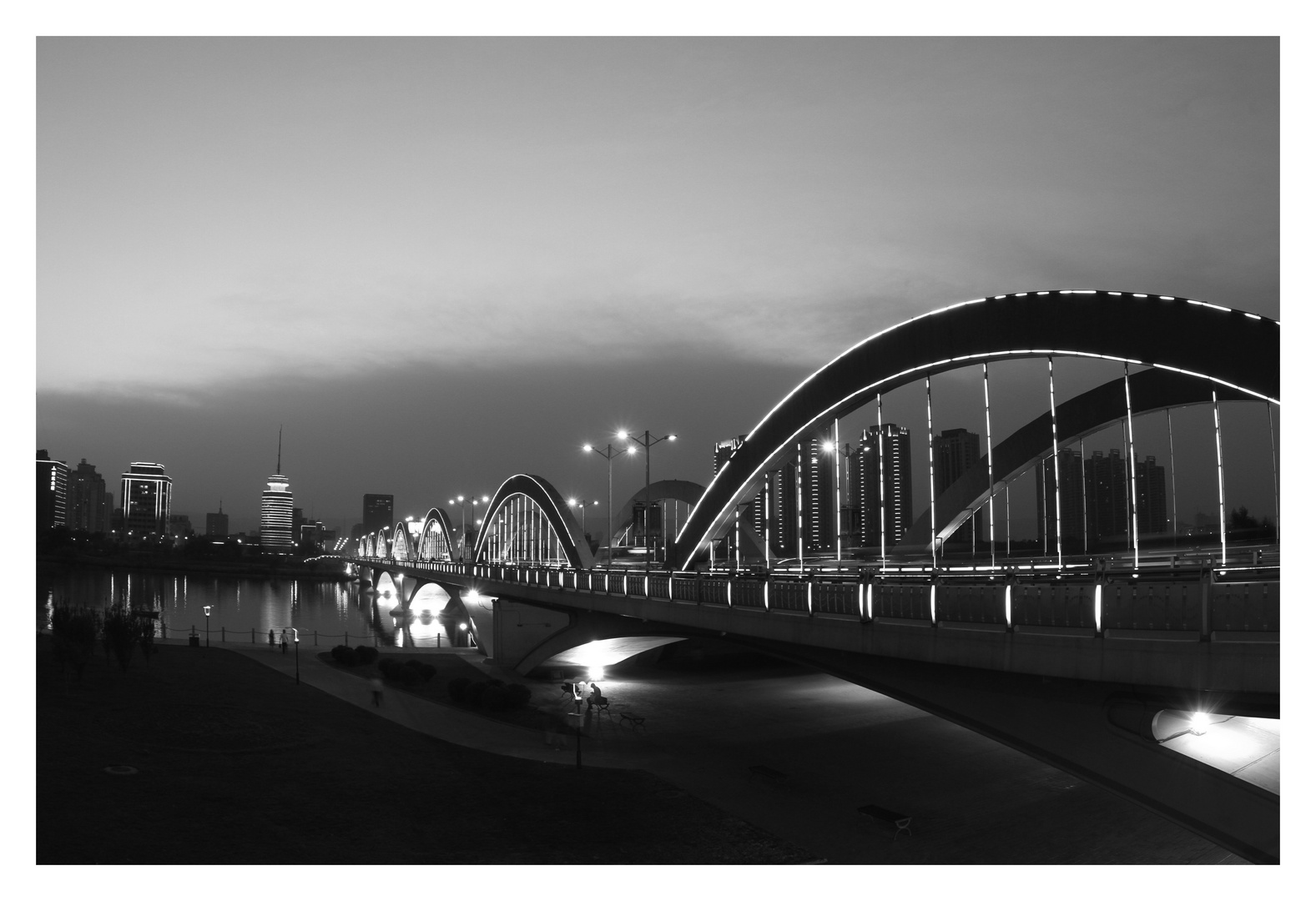 Bridge in Taiyuan - China