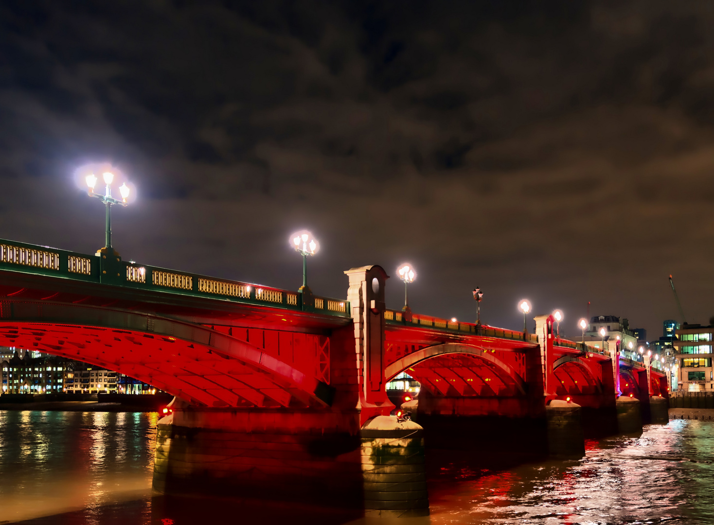 Bridge in thr night time
