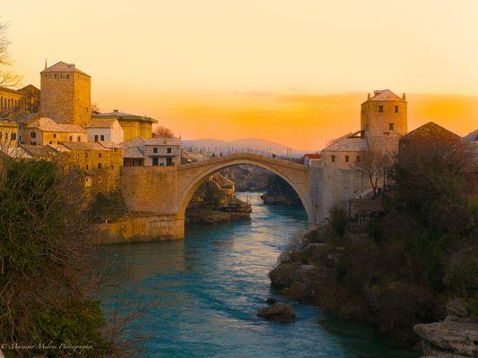 Bridge of Mostar (Bosnia-Herzegovina)