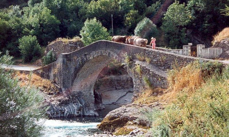 Bridge over Ara