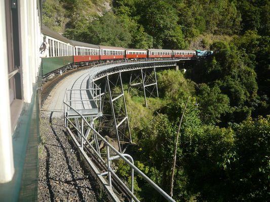 Bridge over Barron Gorge