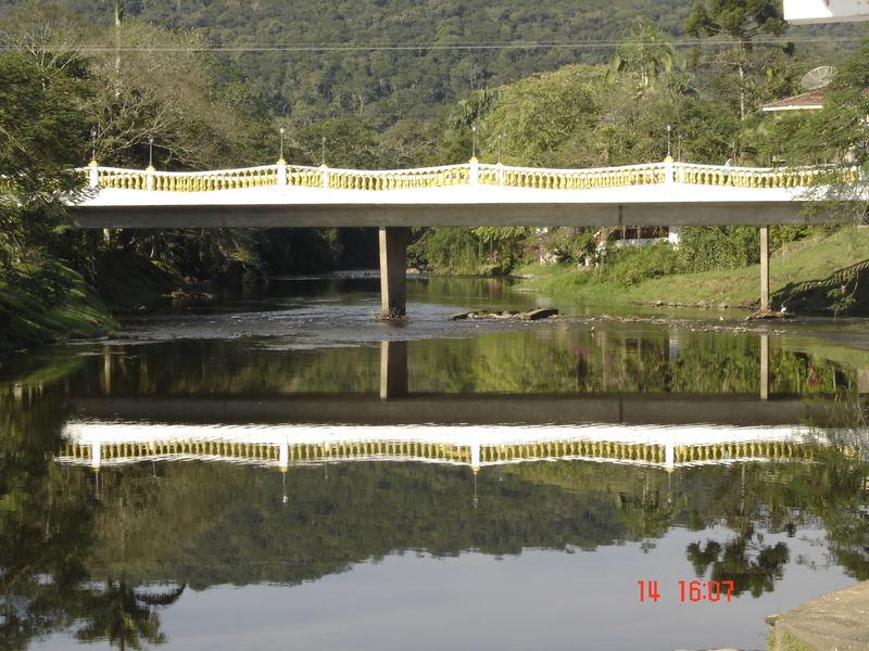 Bridge over calm waters...