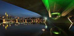 Bridge over quiet Water