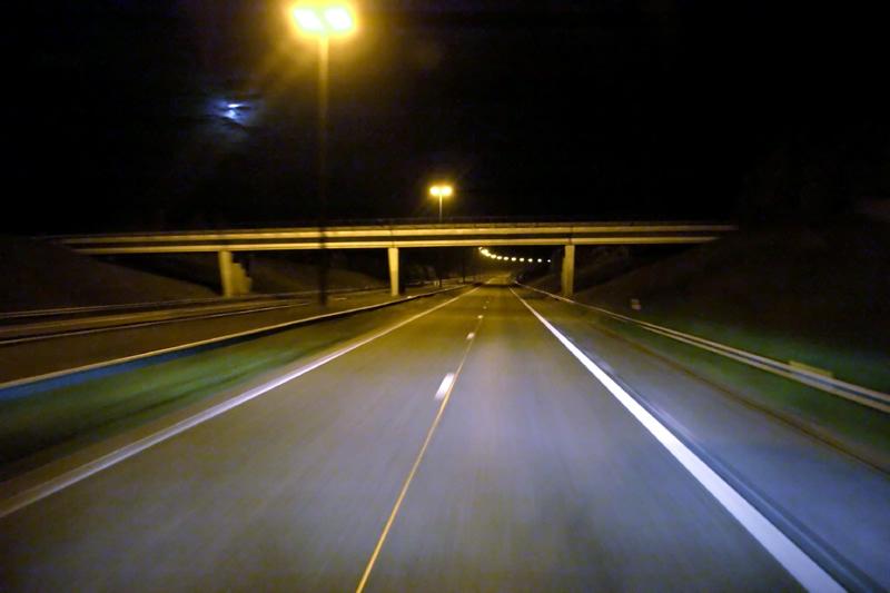 Bridge over the highway