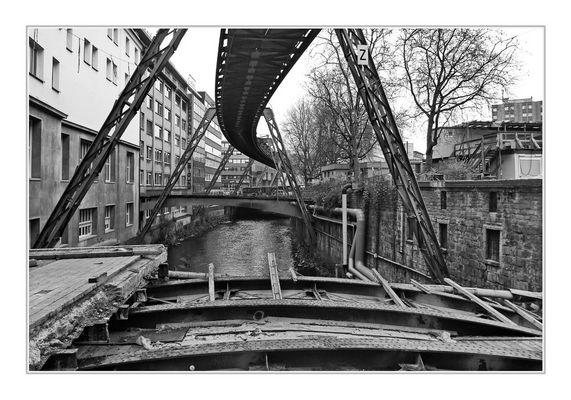 Bridge over the river Wupper