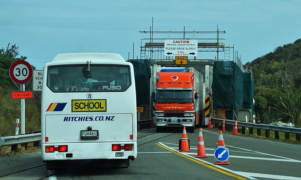 ..Bridge under repair..