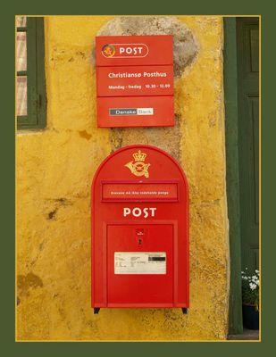Briefkasten auf Christiansø