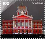 Briefmarke Rendez-vous am Bundesplatz
