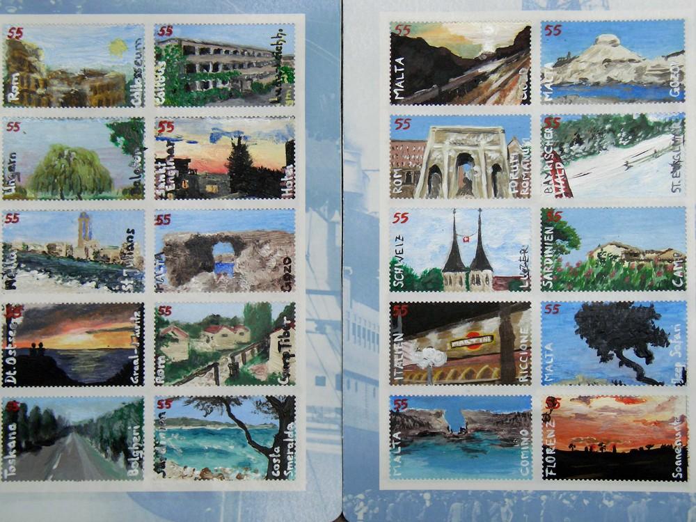Briefmarkensammlung