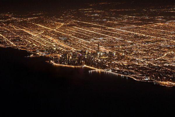 bright dark city