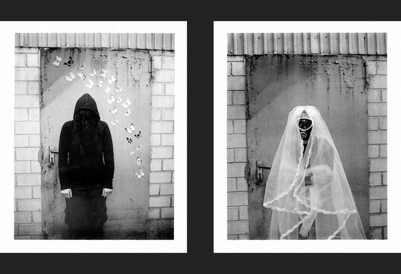 bright in black | bride in white