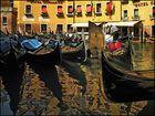 Bright paints of Venice