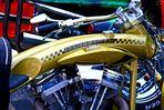 """""""bright pipes"""" Harley Treffen Hamburg 2007"""