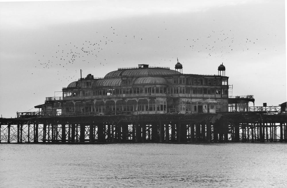 Brighton West Pier - Dokument aus der Vergangenheit