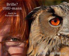 Brille? UHU-mann!