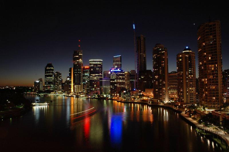 Brisbane at night 3