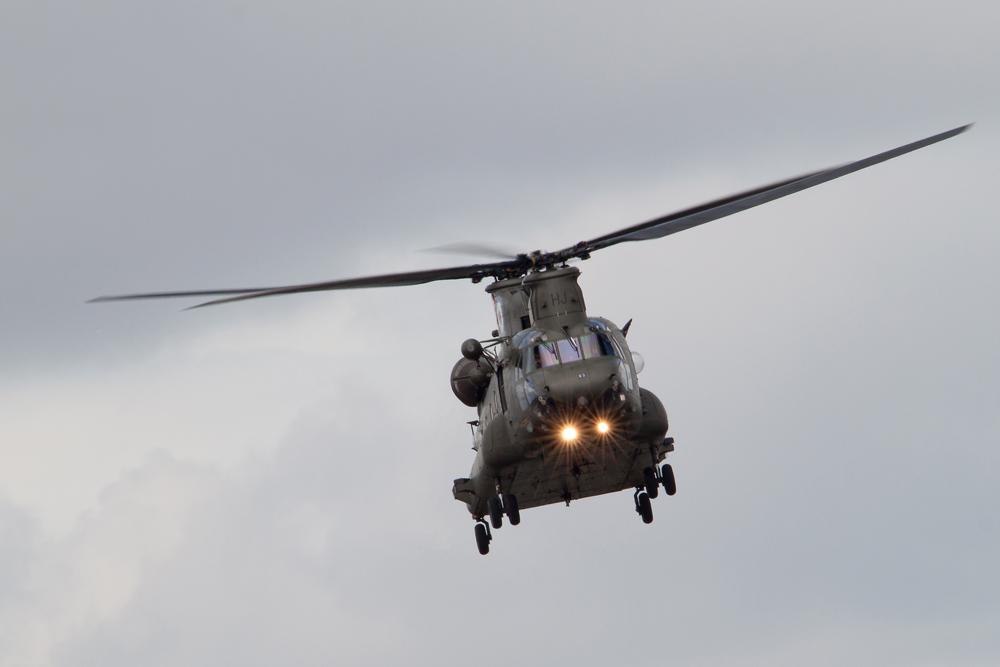 Britischer CH-47 Chinook