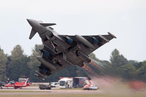 Britischer Eurofighter Typhoon