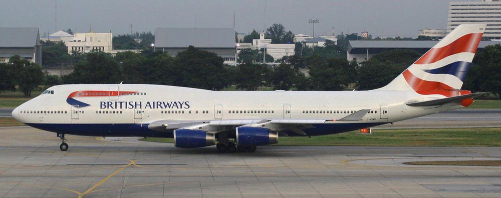 British Airways B 747- 400