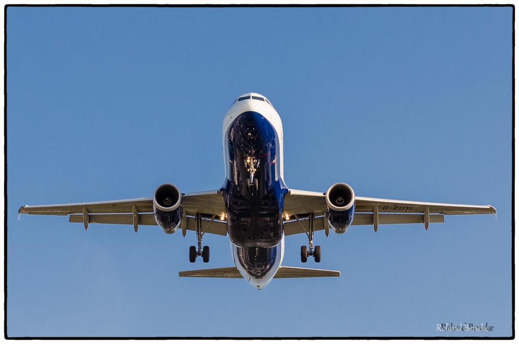 British Airways im Landeanflug