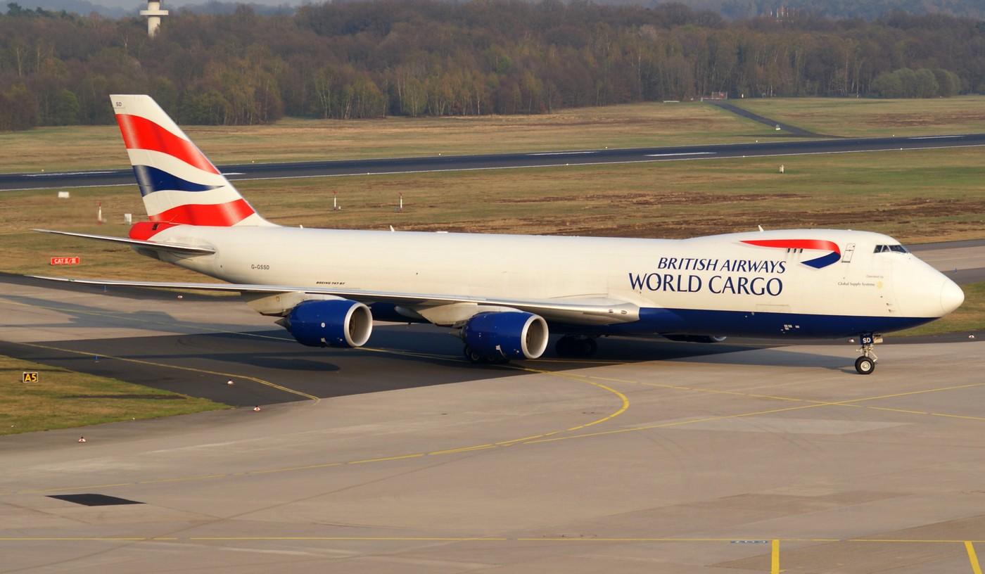 British Airways Word Cargo
