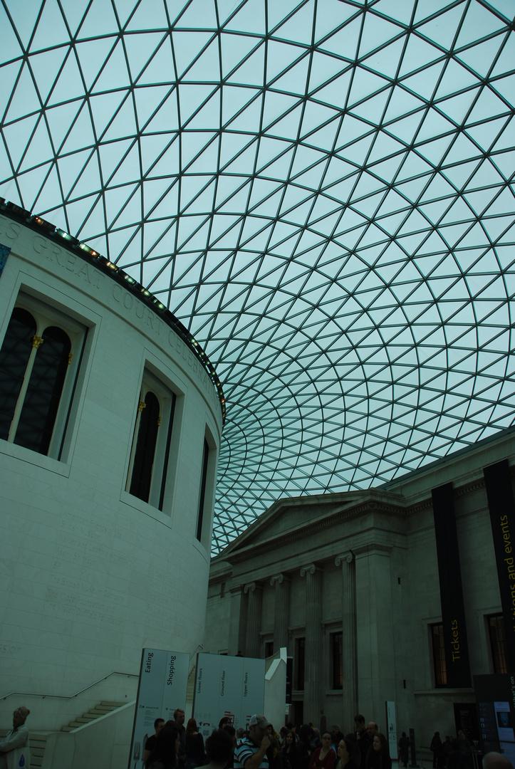 British Museum, Innenausbau von Norman Foster
