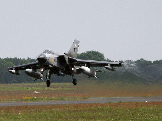 British Tornado taking off
