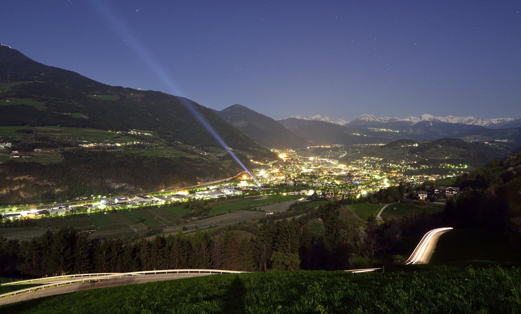Brixen im Mondlicht