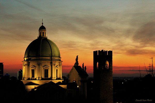 Brixia  sunset