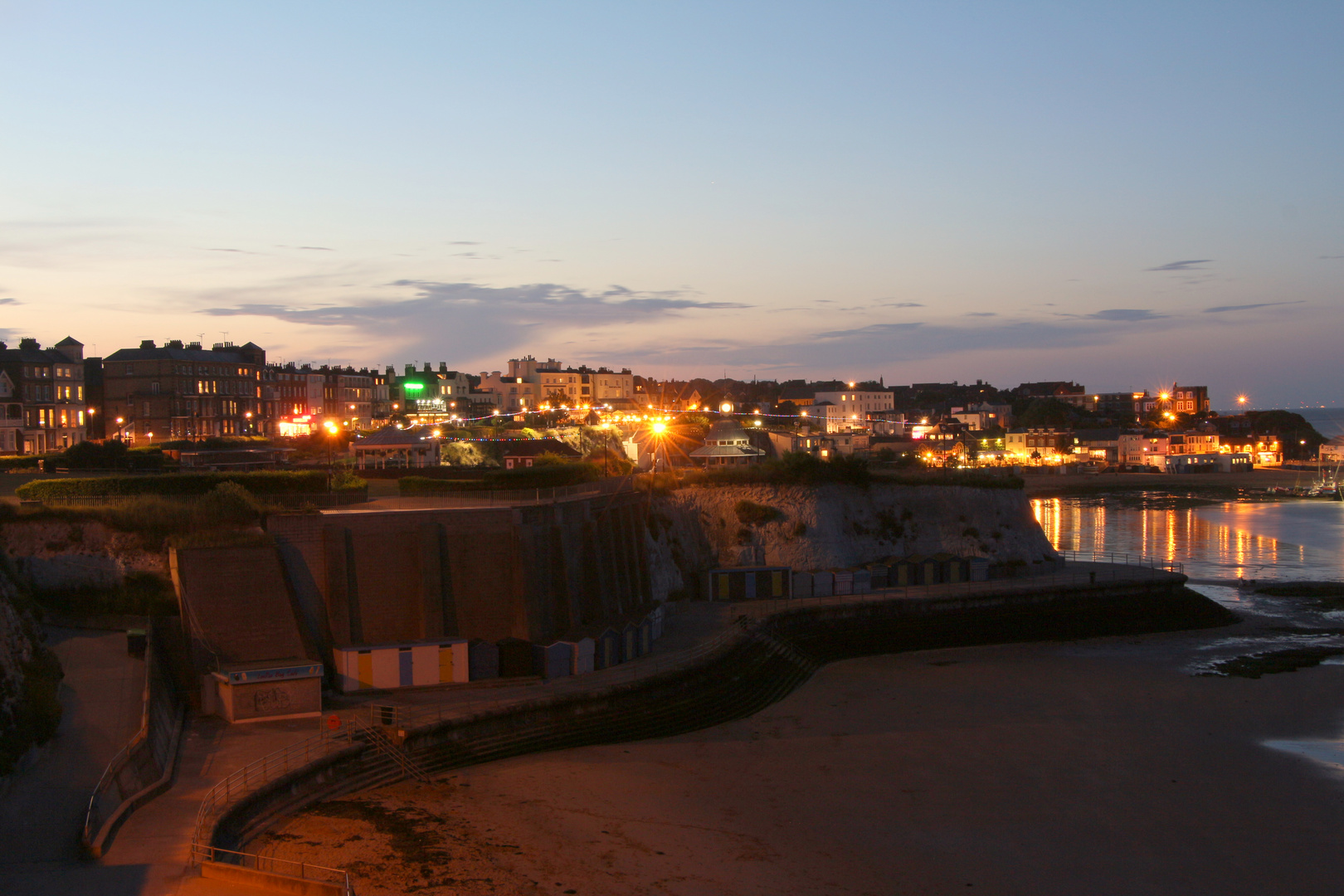Broadstairs by night
