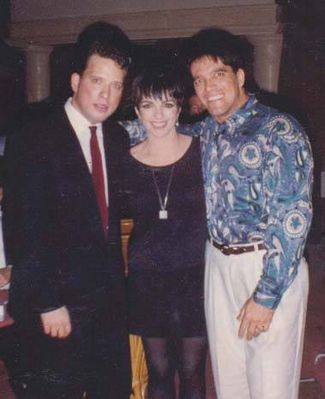 Broadway. Sergio Kato and Lisa Minnelli