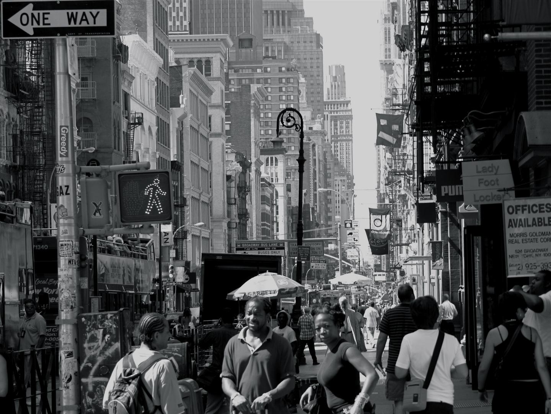 Broadway, SoHo, Manhatten