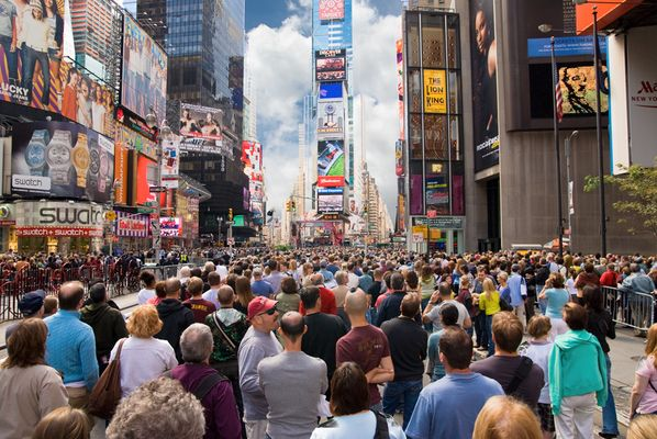 Broadway Theater Blues on timesquare