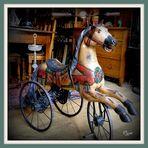 Brocante le cheval de bois
