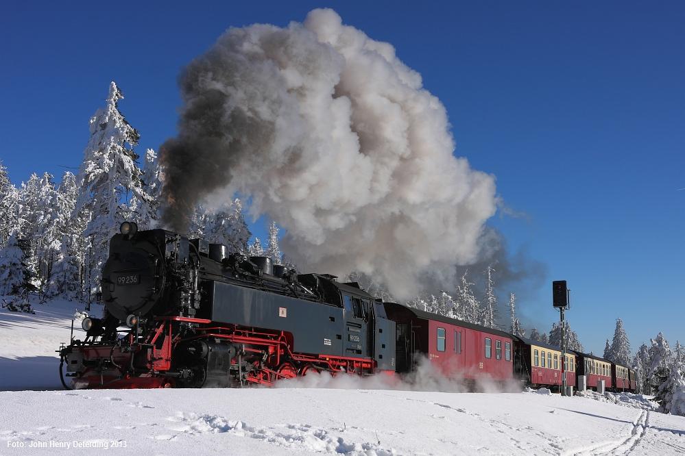 Brockenbahn . Kaisers Wetter