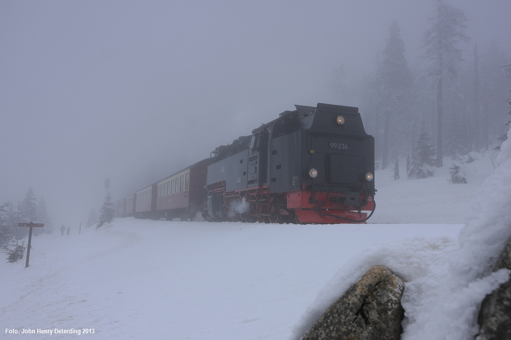Brockenbahn . Launen des Berges