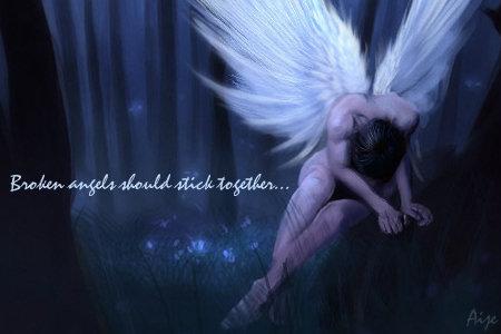 broken angels....