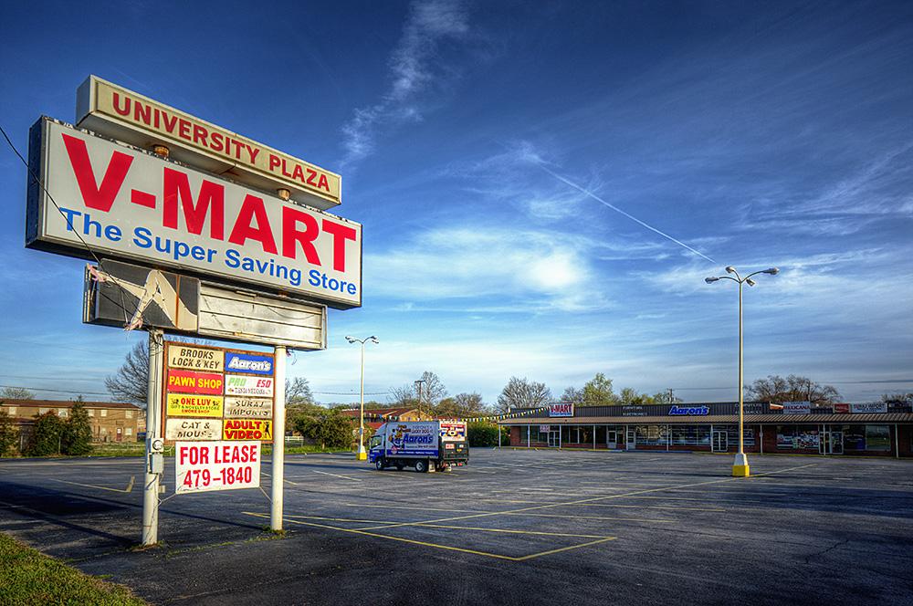 Broken Signs: V-Mart