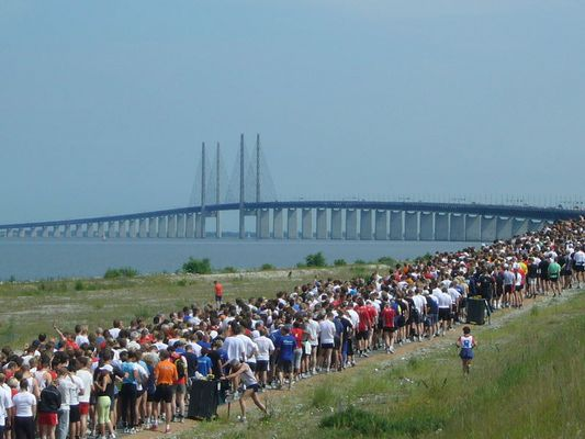 Broloppet - der Brückenlauf