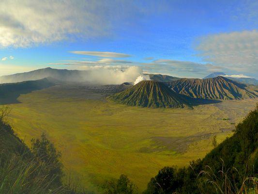 Bromo Vulkan auf Java