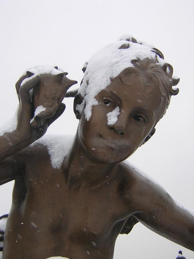 Bronze et neige