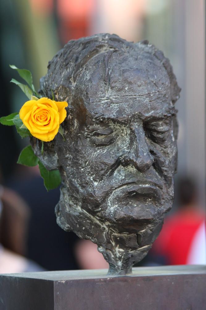 Bronze meets Rose (Mainz)