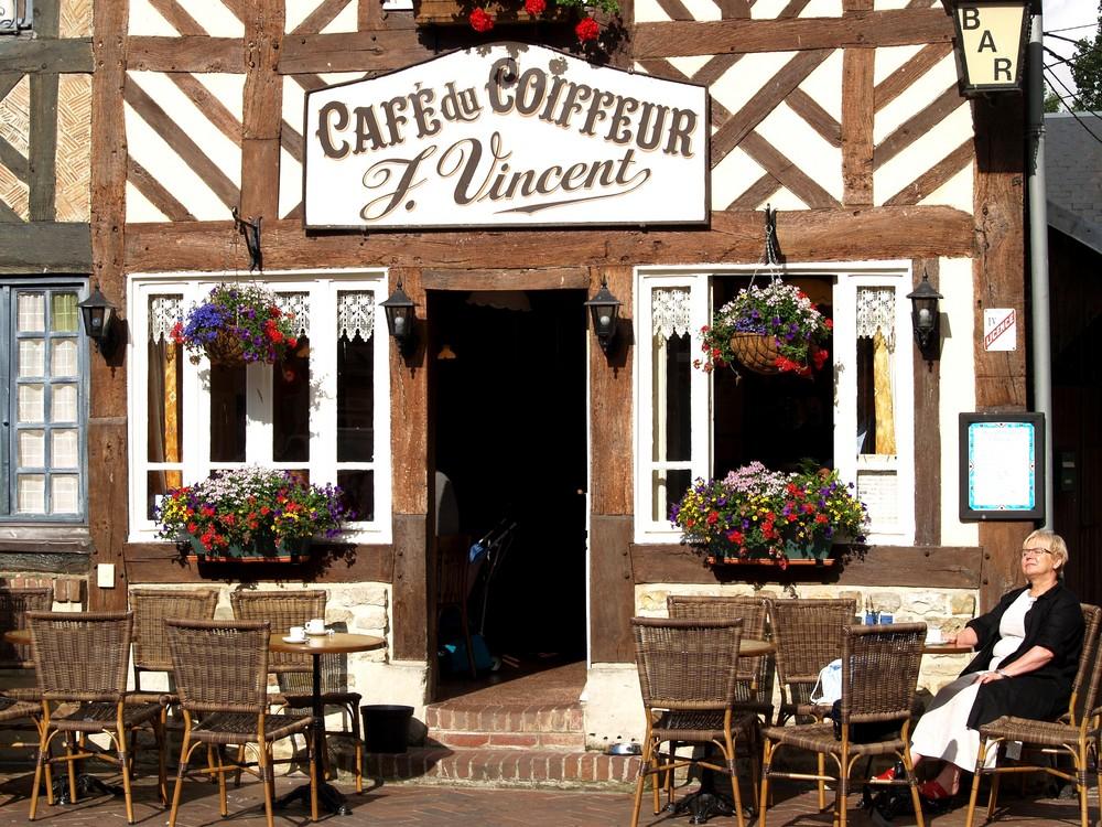 """Bronzer au """"café du coiffeur"""""""
