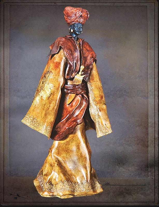 Bronzeskulptur (2)