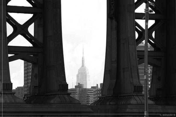 Brooklyn - Au pied du Manhattan Bridge