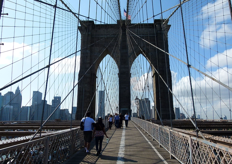 ...Brooklyn Bridge...