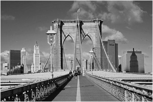 Brooklyn Bridge am 16.11.2007